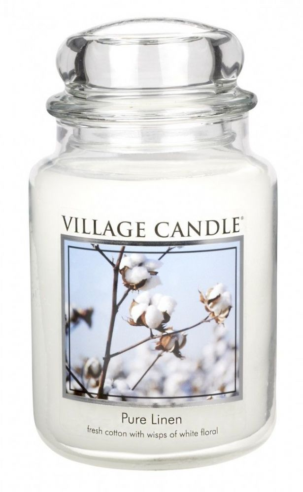 Village Candle Pure Linen (Select Size)